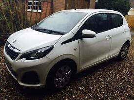 Quick sale outstanding Peugeot 108 2015 in mint condition