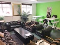 Affordable + flexible Coworking / Shared office space in Wimbledon - desk space from £65 p/m + VAT