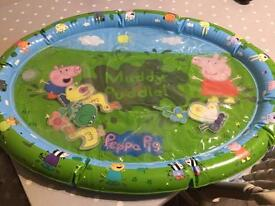 Peppa Pig inflatable water play mat