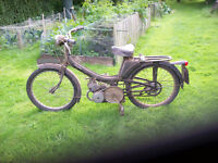 1964 Mobylette 49cc motorcycle