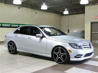2011 Mercedes-Benz C250 4 MATIC CUIR TOIT MAGS 19''