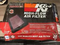 BMW E46 K&N air filter