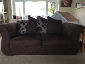 2 Sofa's for Sale - a 3 Seater & 2 Seater - great condition 5 years old, feet included.