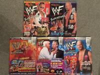WWE - WWF poster books stone cold hardys