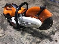 Sthil ts 410 2016 disc cutter like new