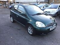 2004 TOYOTA YARIS 1.3 VVT-I T SPIRIT MANUAL 5 DOOR HATCHBACK PETROL