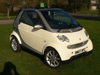 Smart Passion Cabriolet - 35,000 miles - Full Service History - Near New Tyres - Alloy Wheels