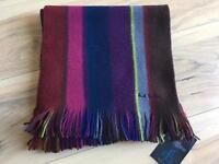 Paul Smith wool scarf bnwt rrp £125