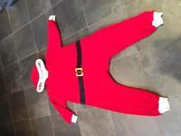 Santa onsie from next age 7-8