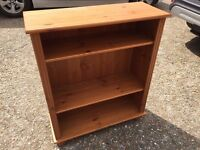 Solid Pine Bookcase perfect for shabby chic!