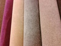 CARPETS RANGE OF COLOURS AND IN ALL SIZES (price per square metre)
