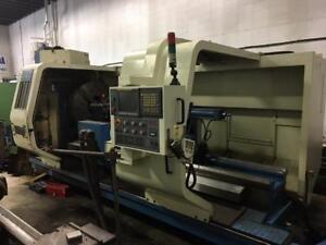 L&L 50x80 CNC Lathe
