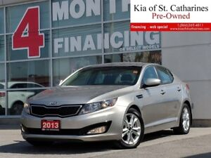 2013 Kia Optima EX Turbo | Climate Control | Leather |