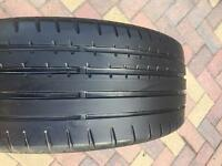 205/45/17 Continental Contact Sport 3 Part worn Tyre - 4-5mm - Mini