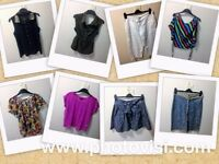 Womens size 10 various clothes bundle - 8 items - tops, skirts, trousers, halter neck