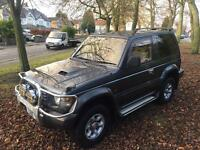 MITSUBISHI PAJERO 2.8 TD SWB SHOGUN 1 OWNER FROM NEW IMMACULATE 4X4 SNOW IMPORT EXPORT BARGAIN