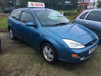 Y Ford Focus 1.8 zetec absolute bargain be quick