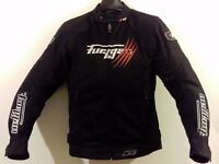 "Postage Available *Furygan Genesis Claw *2 in 1 Textile Sports Motorcycle Jacket * UK 40"" Chest"