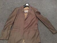 Brown men suit