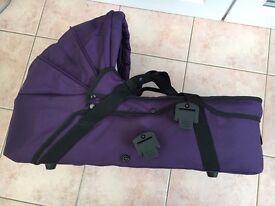 Purple Mountain Buggy Carrycot & Rain Cover (for Terrain & Urban Double/ Triple)