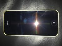 Apple I phone 5c yellow immaculate condition factory unlocked