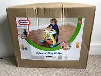 Little tikes drive and play walker