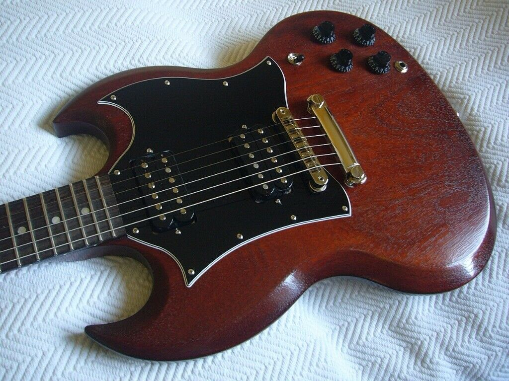 Gibson SG Faded in worn bourbon 2018 USA guitar for sale  | in Blackheath,  London | Gumtree