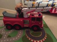 REDUCED Scania Fire Engine