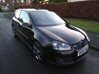 STUNNING BLACK 2005 VW GOLF GTI 2.0 TFSI DSG AUTO 260 BHP 3 DOOR LOW MILES FSH £££s SPENT