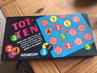 Tot ten vintage board game 1950/1960 by spears