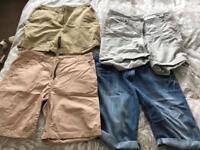 Assorted ladies shorts