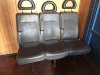 Rear seats transporter transit ldv Ono