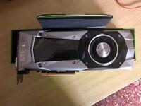 Nvidia gtx 1080 founders Edition