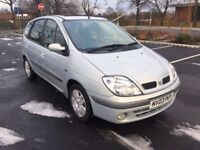 Renault Scenic 1.6 16v Expression + 5dr (AUTOMATIC) (MOT UNTIL JULY 2018) 2003