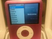 Ipod nano 3rd gen 8gb with logic ipod speaker