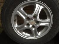 Mitsubishi Shogun Pinin alloy wheels