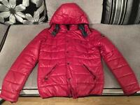 Down filled winter jacket size M