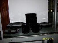 Excellent condition/ Vintage France/Arcoroc black Tea Set