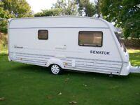 bailey senator vermont 2 berth end shower/dressing room very well looked after van no damp