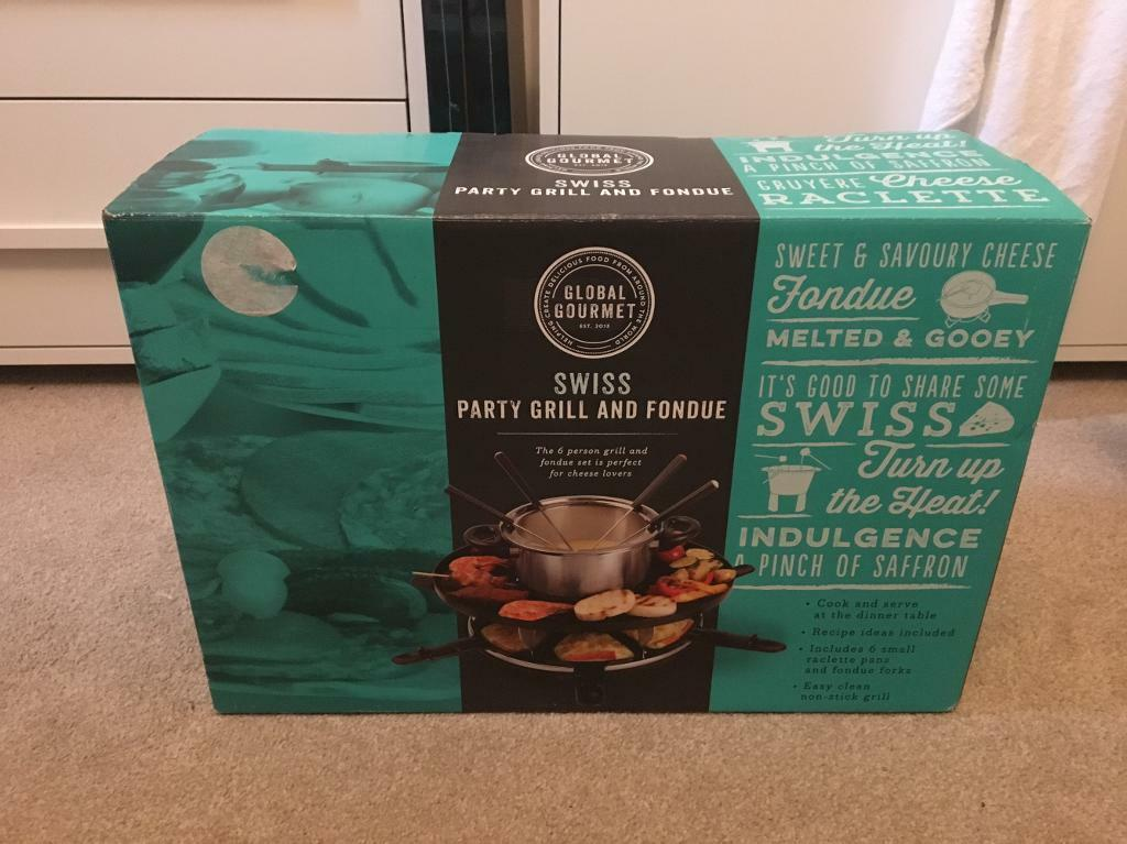 BRAND NEW Fondu Party Grill, never removed from the box. £10