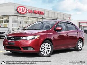 2012 Kia Forte 2.0L LX+ BLUETOOTH AND HEATED SEATS !!