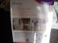 royale concerta 3 in 1 play pen gate