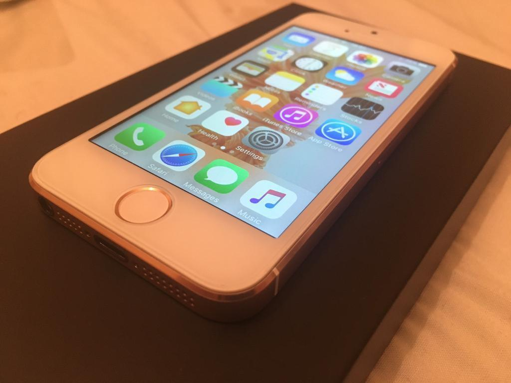 Iphone 5 rose gold 16gb unlockedin Quedgeley, GloucestershireGumtree - IPhone 5 with iPhone SE looks, new screen, new battery, new back housing, iPhone SE Home button style, protection glass on front, protection film on back. The phone is unlocked, and iCloud free it can be viewed and tested before buying.I will throw...