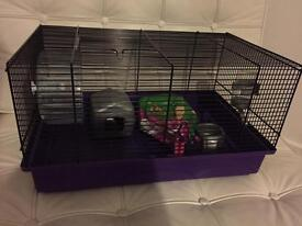 Small hamster cage - great condition