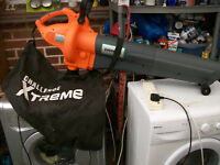 ELECTRIC LEAF BLOWER COLLECTOR.COLLECT NEW MILTON AREA