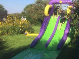 'HappyHop' Inflatable Water Slide