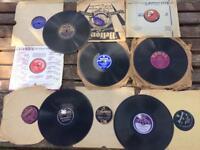 """Records 25 x 78rpm Shellac 10"""" Records"""