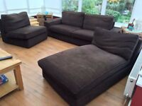 IKEA KIVIK 3-seat Sofa including (Chaise longue) + 1-seat sofa