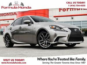 2015 Lexus IS 250 F-SPORT TOP OF LINE | ALL WHEEL DRIVE - FORMUL