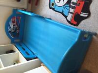 Thomas the tank bed and bedroom accesories